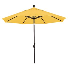 Elena Patio Umbrella in Lemon Yellow