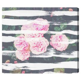 Blooming Strokes Canvas Print, Oliver Gal