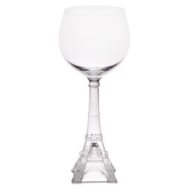 Tour Eiffel Red Wine Glass