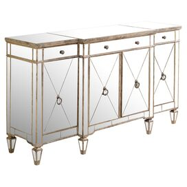 Reina Mirrored Sideboard