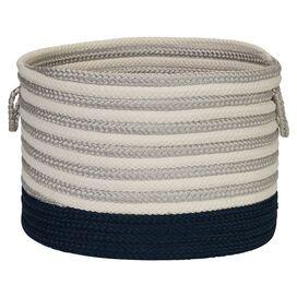 Braided Utility Basket in Blue