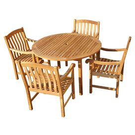 5-Piece Madison Teak Dining Set