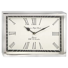 Wadsworth Wall Clock in White