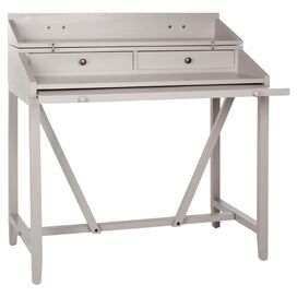 Jerome Writing Desk in Grey
