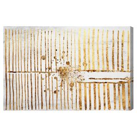 Love Force Field Gold Canvas Print, Oliver Gal