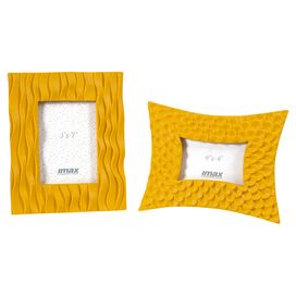 2-Piece Morgana Picture Frame Set in Yellow