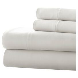 300 Thread Count Sheet Set in White