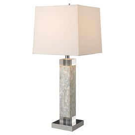 Arca Mother-of-Pearl Table Lamp