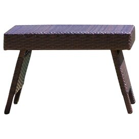 Melrose Patio Wicker Side Table