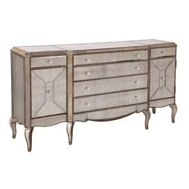 Collette Mirrored Sideboard