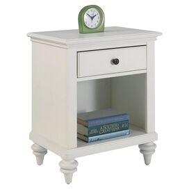 Bermuda Nightstand in Brushed White