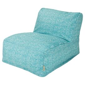 Southwest Indoor/Outdoor Beanbag Lounger in Teal