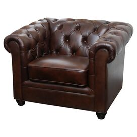 Arcadia Leather Arm Chair