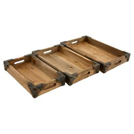 3-Piece Brighton Tray Set