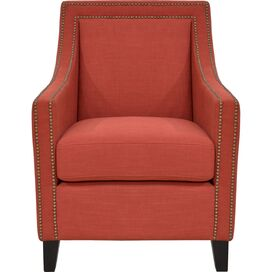 Amelia Arm Chair in Rust