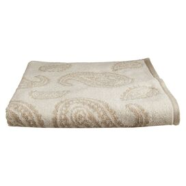 Paisley Bath Towel in Tan (Set of 2)
