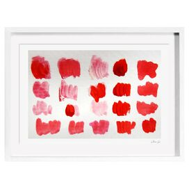 That Shade of Red Framed Print, Oliver Gal