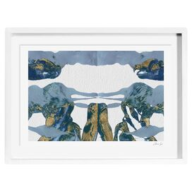 Midsummer's Night Framed Print, Oliver Gal