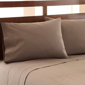 1200 Thread Count Egyptian Cotton Sheet Set in Khaki
