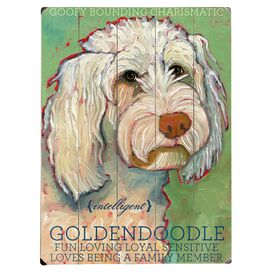 Goldendoodle Wall Decor