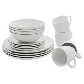 16-Piece Selma Round Porcelain Dinnerware Set