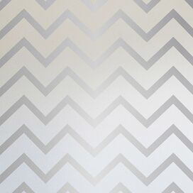 Silver Stripe Removable Wallpaper