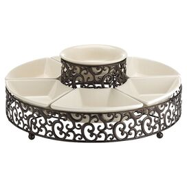 8-Piece Danbury Chip & Dip Set