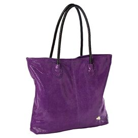 Reina Tote in Purple