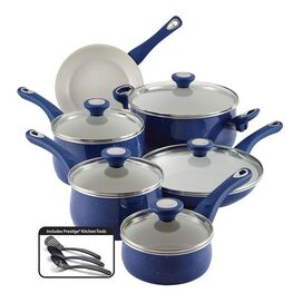Farberware 14-Piece New Traditions Cookware Set in Blue
