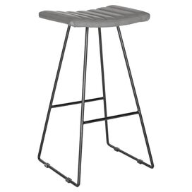 Akito Barstool in Gray (Set of 2)