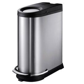 Rory Stainless Steel Wastebasket