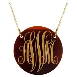 Personalized Winona Pendant by Bridget Kelly