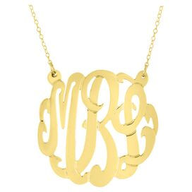 Personalized Mirabeth Necklace in Gold by Bridget Kelly