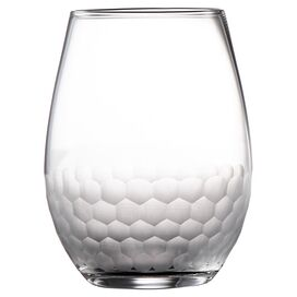 Daphne Stemless Wine Glass in Clear (Set of 4)