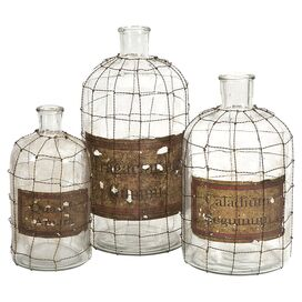 3-Piece Dimora Bottle Set