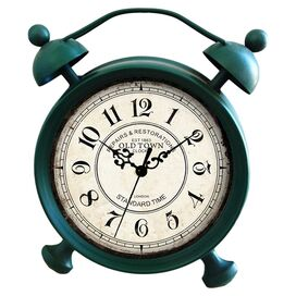 Morris Table Clock in Green