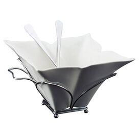 3-Piece Fiore Porcelain Salad Bowl & Server Set