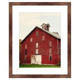 Red Barn Framed Giclee Print
