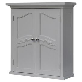 Versailles Wall Cabinet in White