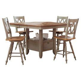 5-Piece Leah Dining Set