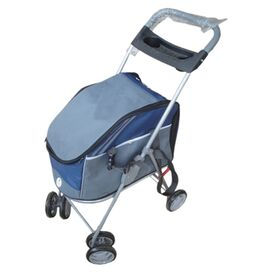 Randall Dog Stroller in Blue