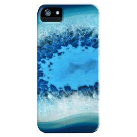 Blue Agate iPhone 5 Case