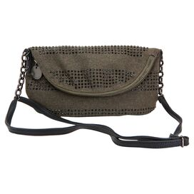Raindrop Shoulder Bag in Olive