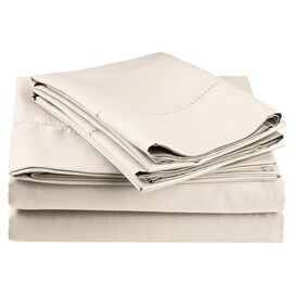 600 Thread Count Sheet Set in Ivory