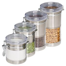 4-Piece Donna Canister Set