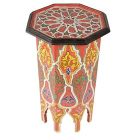 Daphne Side Table in Red