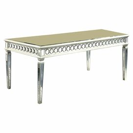 Amelia Mirrored Dining Table