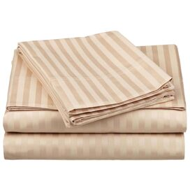 650 Thread Count Egyptian Cotton Sheet Set in Beige