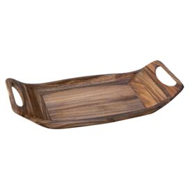 Saddle Acacia Tray