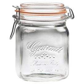 Gourmet Recycled Glass Jar (Set of 6)